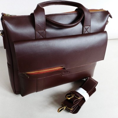 100% Cow Leather Bag for Men